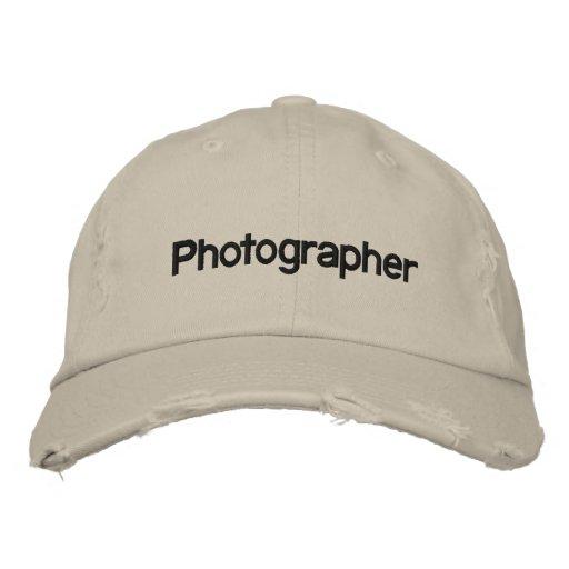 Fotograf Besticktes Cap