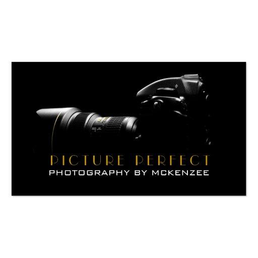Fotograf, Fotografie, Kamera-Visitenkarte