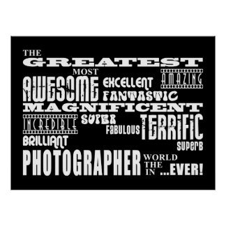 Fotograf-Geburtstage: Bestster Fotograf Plakatdruck