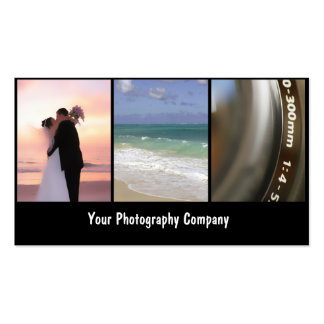 Fotograf-Geschäft Cards_New Visitenkarten