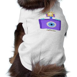 Fotograf-Hund Hunde-t-shirt