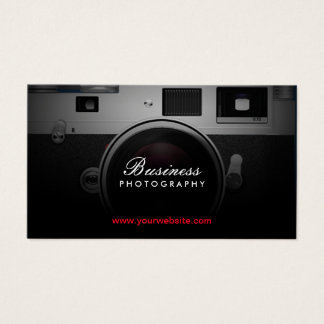 Fotograf-klassische Kamera-moderne Fotografie Visitenkarten