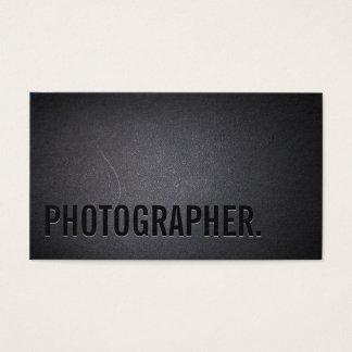 Fotograf-unbedeutende mutige Text-Fotografie Visitenkarte