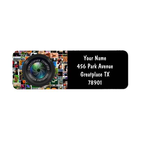 Fotograf und Fotografie-Geschäfts-Kameraobjektiv