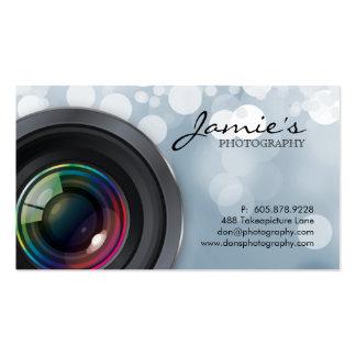 Fotograf-Visitenkarte-moderne graue Lichter