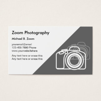 Fotograf-Visitenkarten Visitenkarte