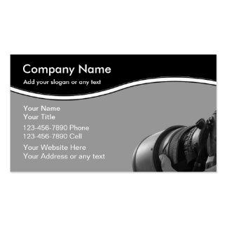 Fotograf-Visitenkarten Visitenkarten