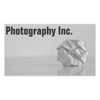 Fotografie-Anzeige Visitenkarten