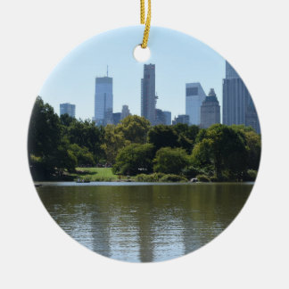 Fotografie Central Park See-New York City NYC Keramik Ornament