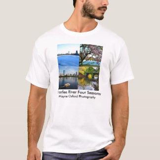 Fotografie Charles River Waynes Oxford T-Shirt