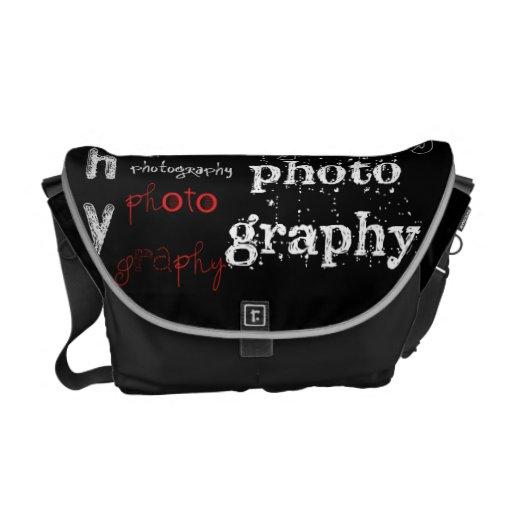Fotografie-Collagen-Tasche Kurier Taschen