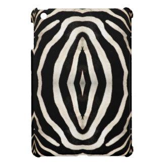 Fotografie des Pelzes eines wirklichen Zebras iPad Mini Hülle