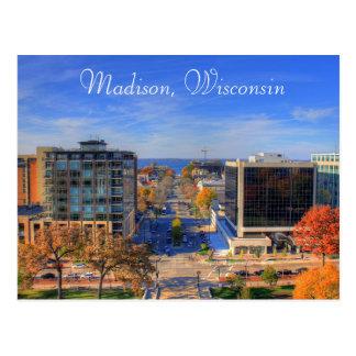 Fotografie-Digital-Kunst-Postkarte Madisons Postkarte
