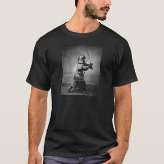 Fotografie eines Samurais C. 1860 T-Shirt