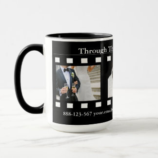 Fotografie-Film-Rahmen-Fotograf-Fotos Tasse