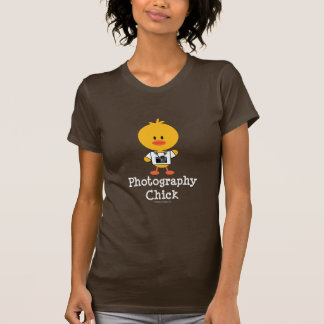 Fotografie-Küken-T-Shirt T-Shirt