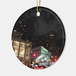 Fotografie Lincoln Center-New York City NYC Keramik Ornament