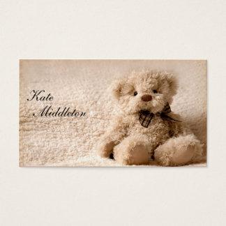 Fotografie-Visitenkarte - Teddybär Visitenkarten