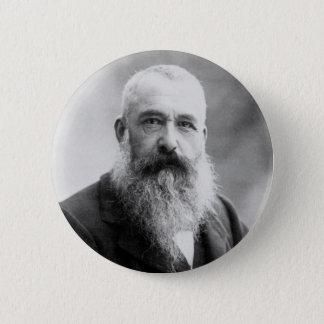 Fotografie von Claude Monet durch Nadar (1899) Runder Button 5,7 Cm