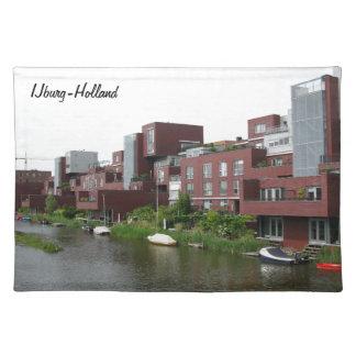Fotografie von IJburg - Amsterdam-Architektur Tischsets