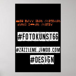 fotokunst66 Fan poster1 Plakat