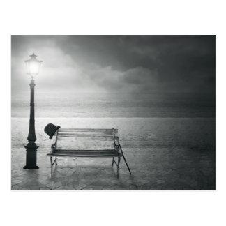 Fotokunst schwarz u. weißer Kunst-Deko, Vintag, Ge Postkarten