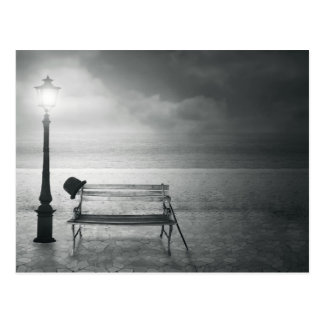 Fotokunst schwarz u. weißer Kunst-Deko, Vintag, Postkarten