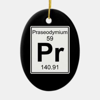 Fotorezeptor - Praseodymium Keramik Ornament