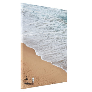 Fotos durch den Ozean Leinwanddruck