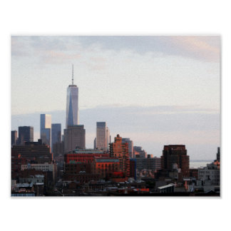 Fotos New Yorkverdichtereintrittslufttemperat Poster