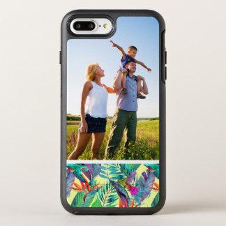 FotoWatercolor Humminbirds im Dschungel OtterBox Symmetry iPhone 8 Plus/7 Plus Hülle