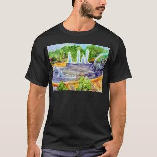 Foutain im Stadtzentrum gelegenes Olathe.jpg T-Shirt