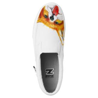 Fox-Aquarell Slip-On Sneaker
