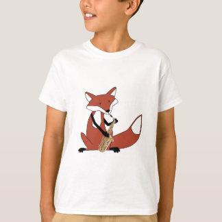 Fox, der das Saxophon spielt T-Shirt