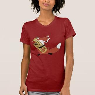 Fox, der den Euphonium spielt T-Shirt