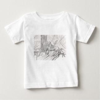 Fox, der Eliana zeichnet Baby T-shirt