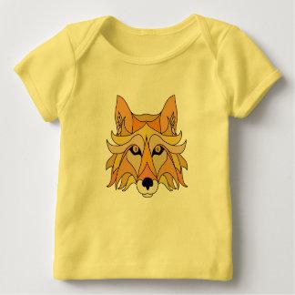 Fox-Gesicht Baby T-Shirt