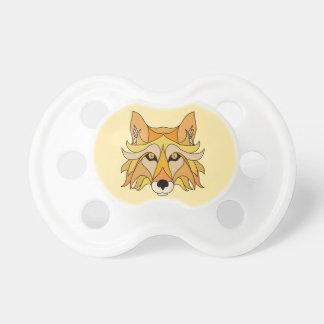 Fox-Gesicht Schnuller