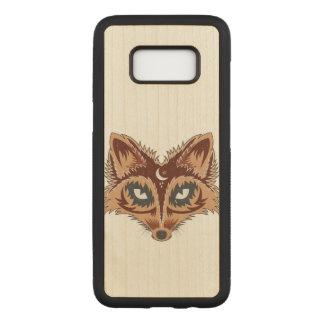 Fox-Illustration Carved Samsung Galaxy S8 Hülle