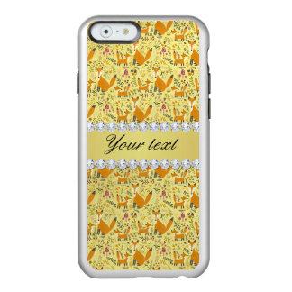 Fox-Imitat-Goldfolie Bling Diamanten Incipio Feather® Shine iPhone 6 Hülle