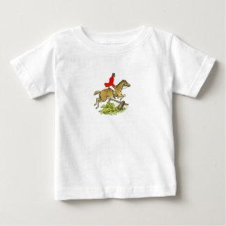 Fox-Jagd-Pullover-Jäger-Pferd Baby T-shirt