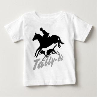 Fox-Jagd Tally-Ho Baby T-shirt