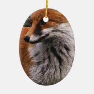 Fox Keramik Ornament