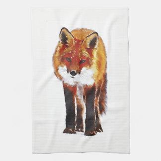 fox Küchentuch, foxy Teetuch, Fuchsjungs-Zuhausede Küchentuch