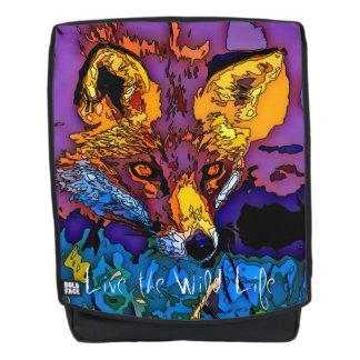 Fox - Leben das wilde Leben/der Rucksack