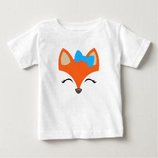Fox mit Bogent-stück für Kinder Baby T-shirt