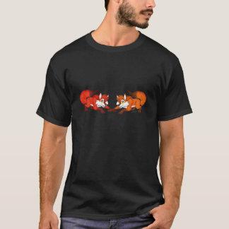 Fox-Paar-Standard-T-Stück T-Shirt