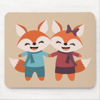 Fox-Paare Mousepad