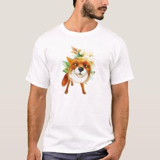 Fox-Rosen. Aquarell T-Shirt