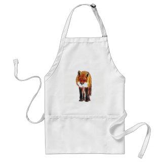 fox Schürze, Fuchsküche, Fuchsgeschenk Schürze